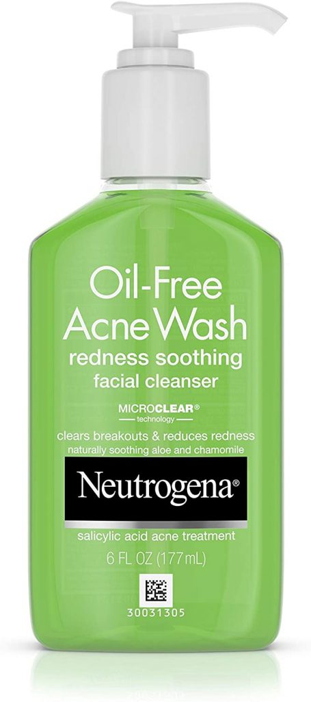 Neutrogena Oil-Free Acne and Redness Facial Cleanser