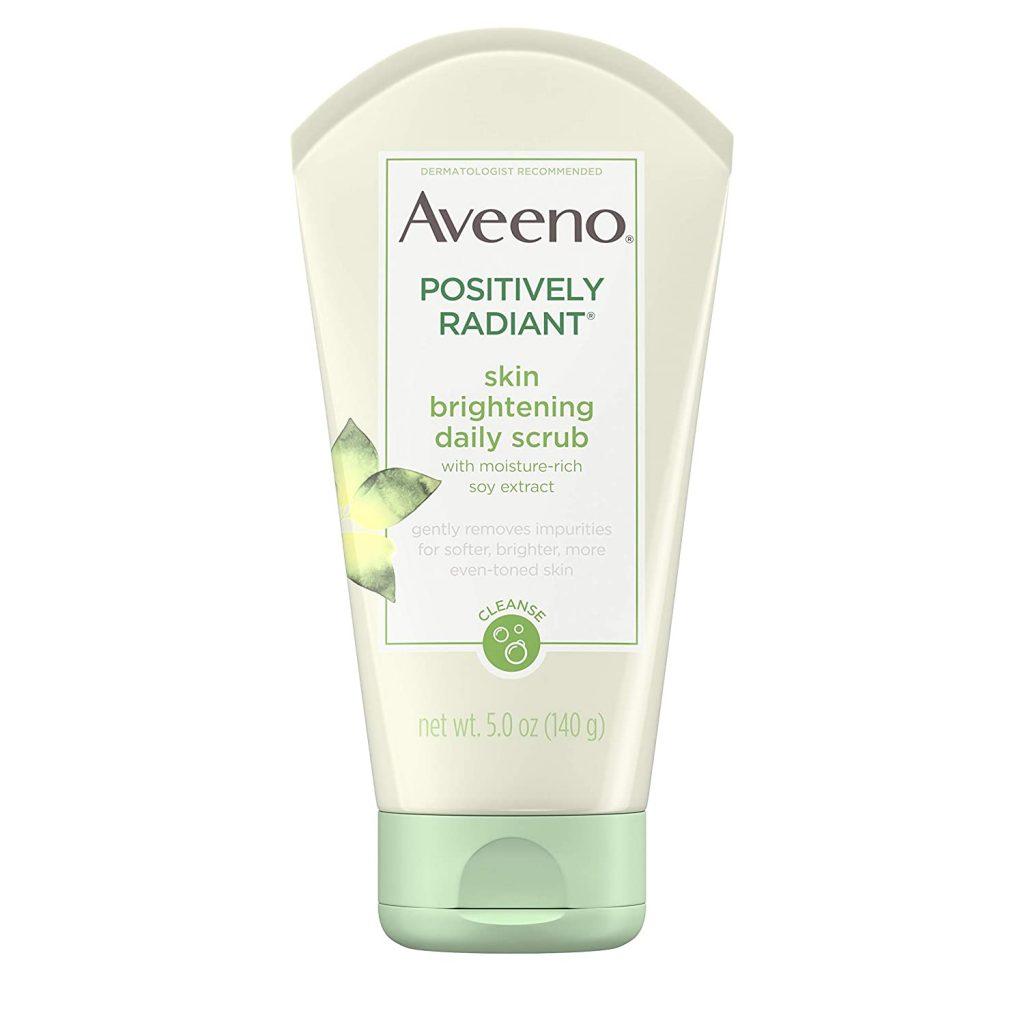 Aveeno Skin Brightening Exfoliating Facial Scrub