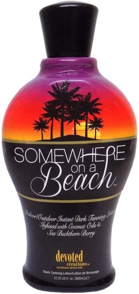 Devoted Creations Somewhere on a Beach Tanning Lotion