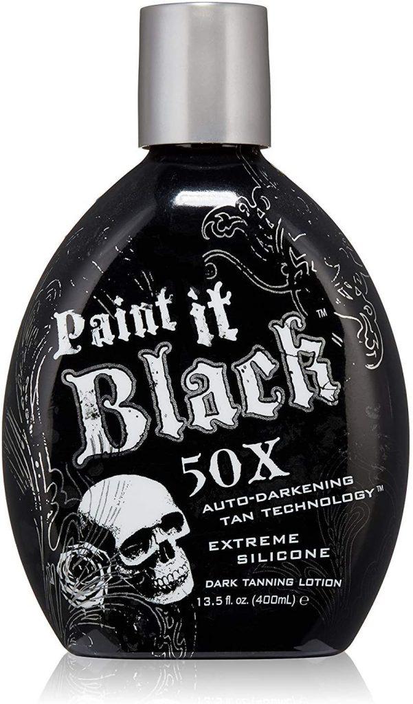 Millenium Tanning New Paint It Black Auto darkening Dark Tanning Lotion