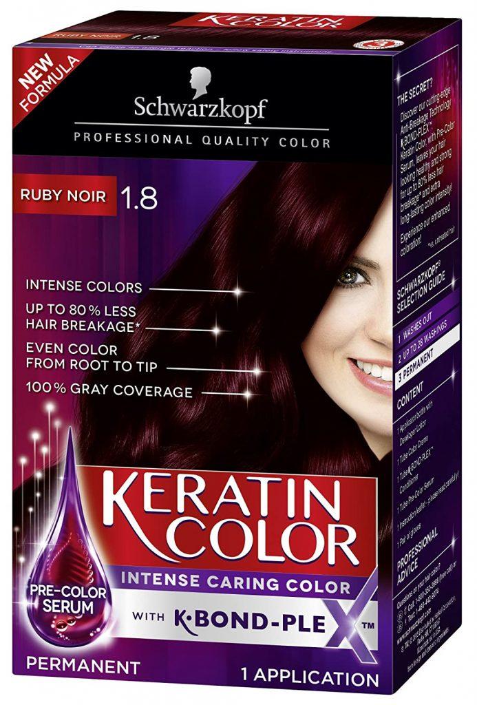 Schwarzkopf Keratin Color Dye