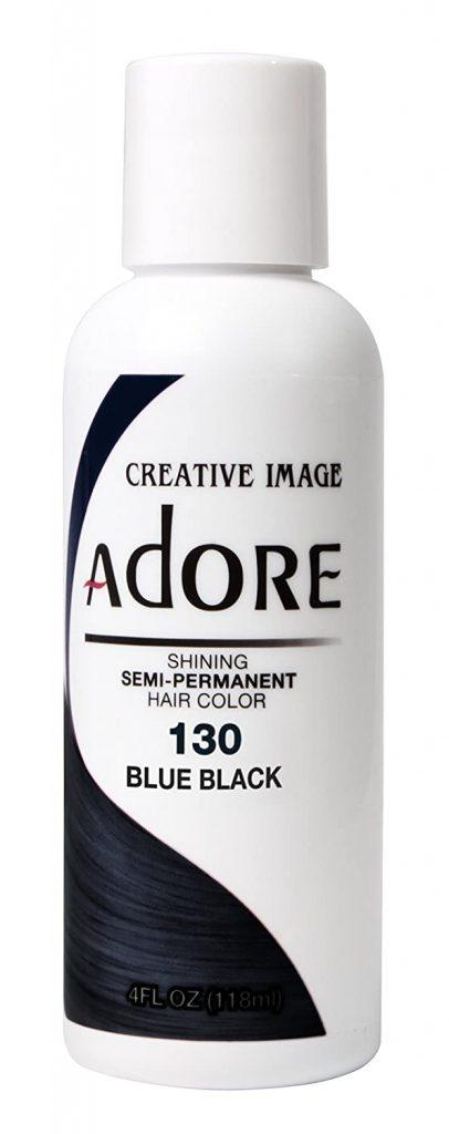 Adore Semi Permanent Haircolor 130 Blue Black 4 Ounce 1