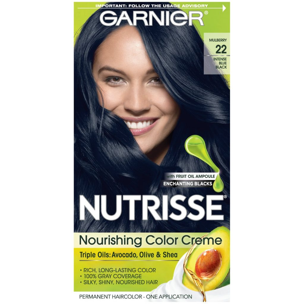 Garnier Nutrisse Nourishing Color Creme Nourishing Color Creme 22 Intense Blue Black