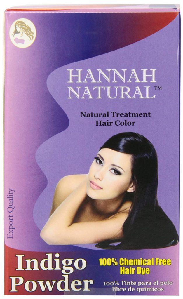 Hannah Natural 100 Pure Indigo Powder for Hair Dye 1