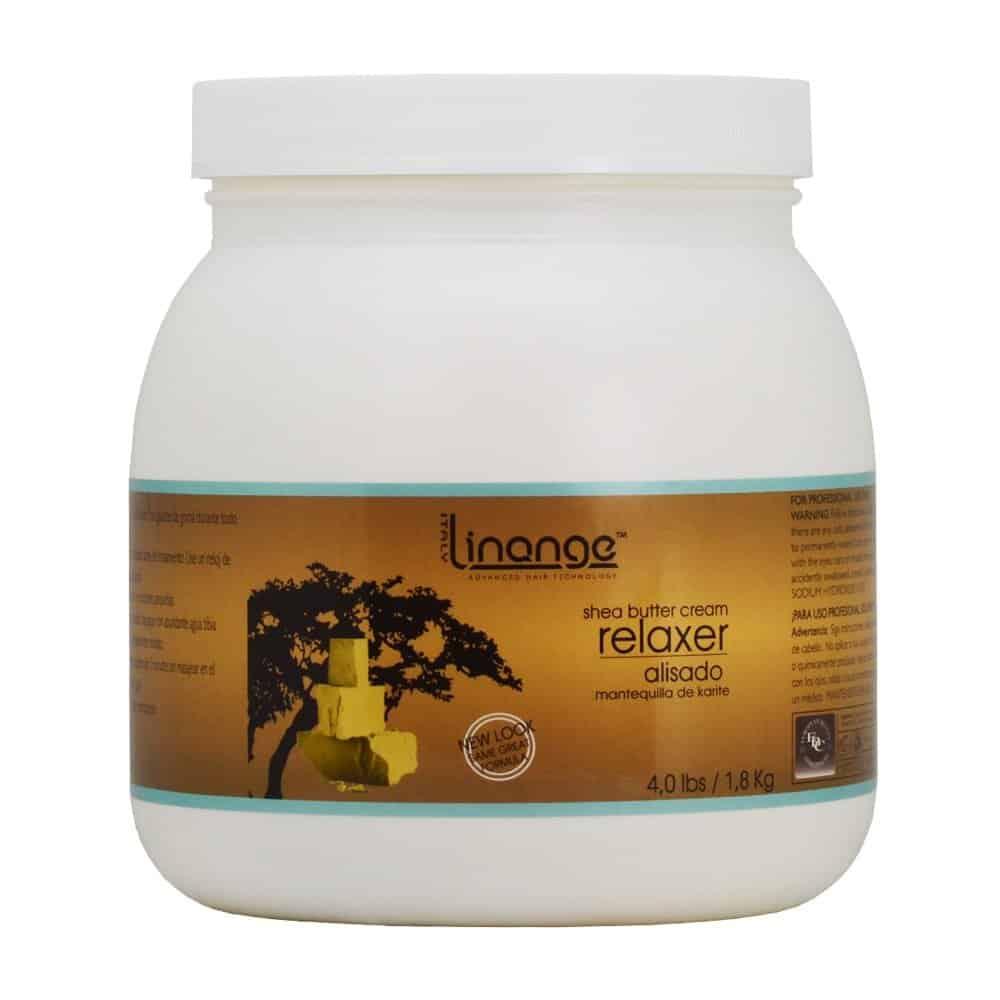 Linange Shea Butter Cream Relaxer 1