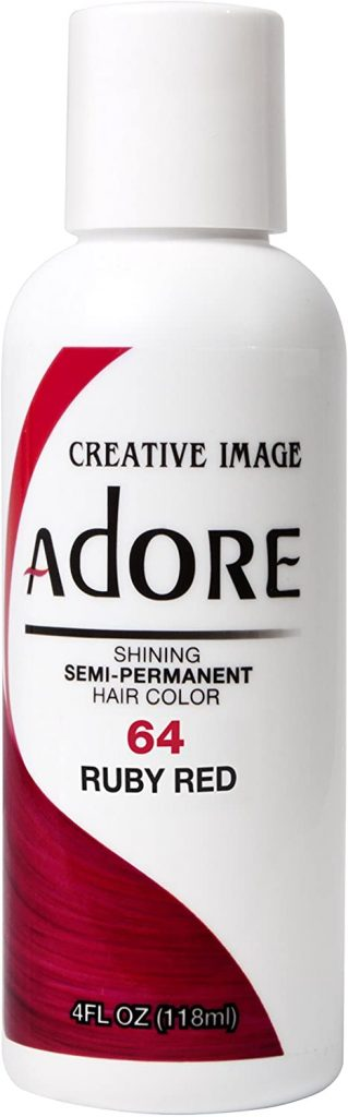 Adore Semi-Permanent Haircolor #064 Ruby Red