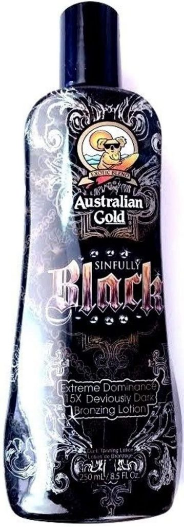 Australian Gold Sinfully Black 15x Bronzer Tanning Lotion