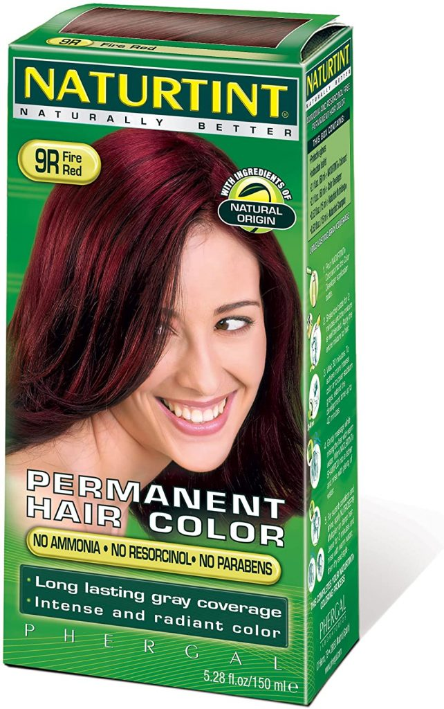 Naturtint Permanent Hair Colors Fire Red (9R)
