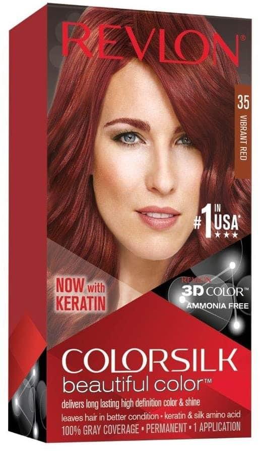 Revlon Colorsilk Beautiful Color Vibrant Red