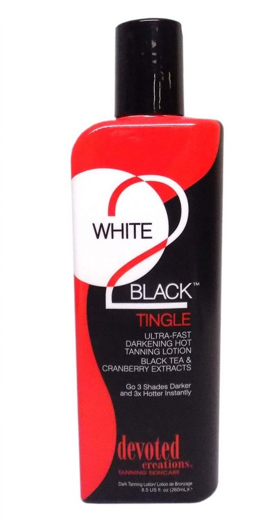 Devoted Creations White 2 Black Tingle Ultra Fast Darkening Lotion