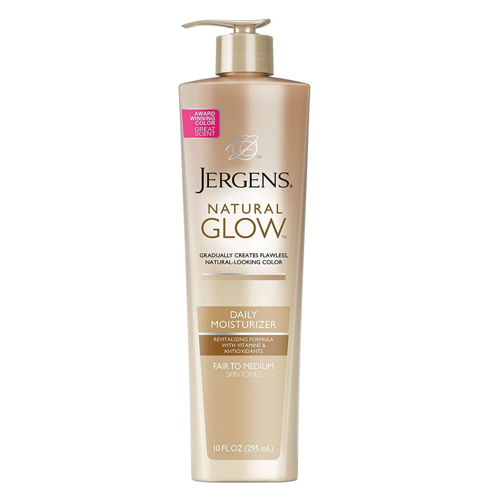 Jergens Natural Glow Sunless Tanning Lotion Self Tanner