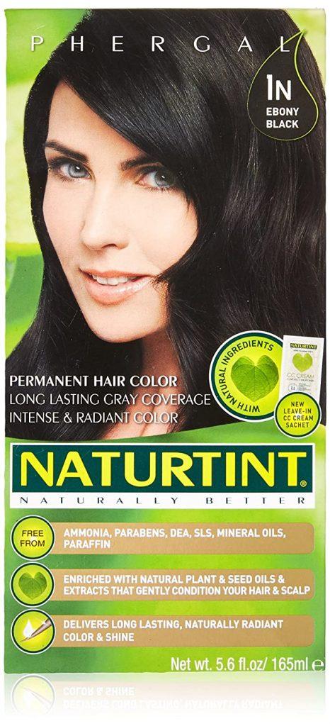 Naturtint Permanent Hair Colorant 1n Ebony Black