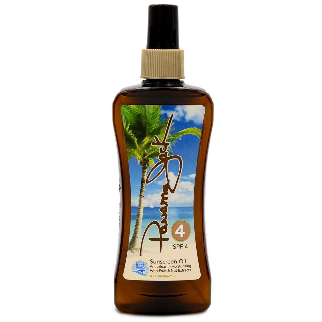Panama Jack Sunscreen Tanning Oil SPF 4 Reef Friendly PABA Paraben Gluten Cruelty Free