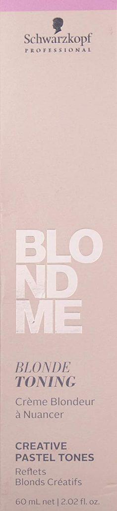 Schwarzkopf Professional Blond Me Blonde Toning Ice